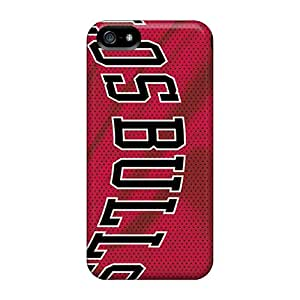 Tough Iphone MHCvvqI-2568 Case Cover/ Case For Iphone 5/5s(chicago Bulls)
