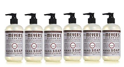 Mrs Meyers Hand Soap Liquid Lavender, 12.5 fl oz (Pack - 6)