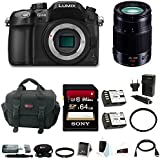 Panasonic LUMIX DMC-GH4K Mirrorless Camera Bundle (Bundle + 35-100mm Lens)