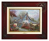 Thomas Kinkade Sweetheart Cottage 9'' x 12'' Canvas Classic (Brandy)