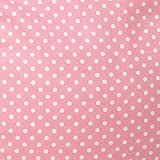 Flash Furniture Oversized Light Pink Dot Bean Bag