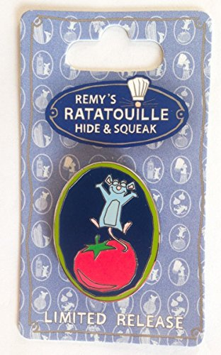 Disney Parks Ratatouille Hide and Squeak Pin- Tomato