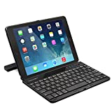 iPad Air Keyboard, TeckNet Ultra-Thin iPad Air 2 Keyboard (US Keyboard Layout) Case Cover with 360 Degree Rotation, Multi-Angle Stand and Auto Wake and Sleep For Apple iPad Air 2nd Generation