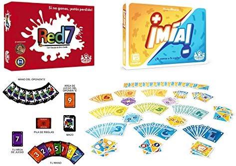Outletdelocio. Pack 2 Juego de Cartas ¡MIA! + Red7. Edicion ...