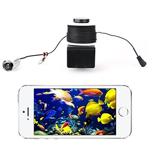Powpro Wcam PP-X5 Wifi Underwater Fish Finder 20m Underwater Fishing Video