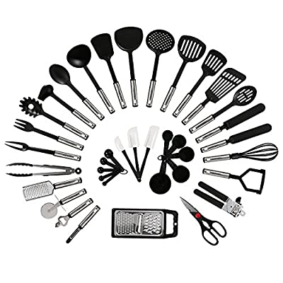 NEXGADGET Silicone Kitchen Utensil Starter Kit by NEXGADGET