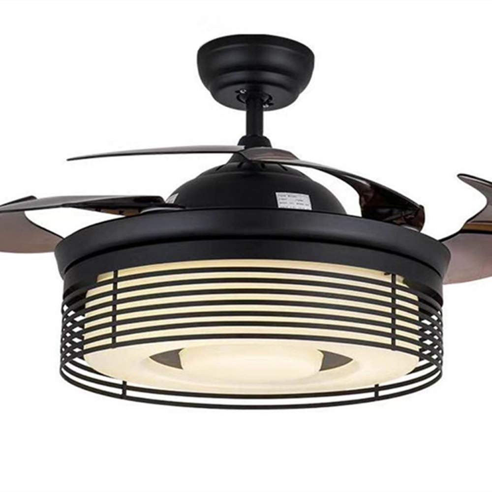 Huston Fan 42 Inches Ceiling Fan Light with 4 Acrylic Retractable ...