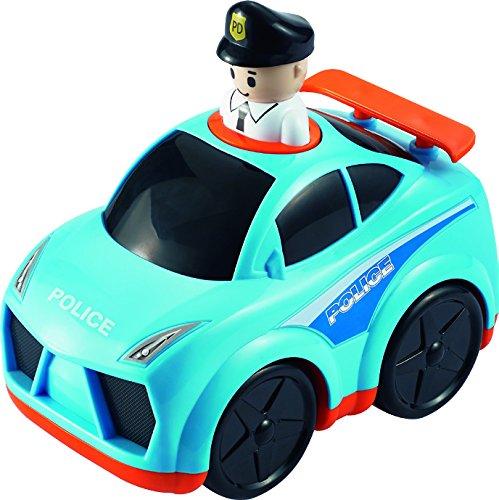 Small World Toys Press N' Go Police Car