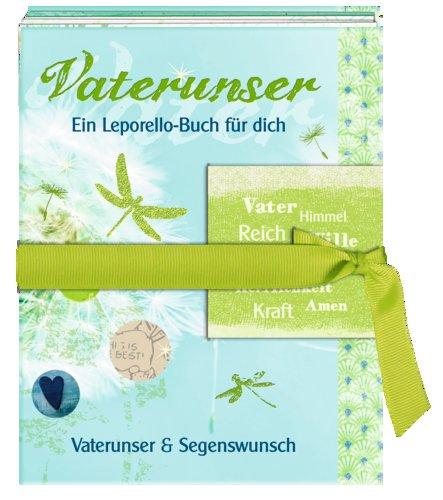 Vaterunser - Ein Leporello-Buch für dich (Konfirmation): Vaterunser & Segenswunsch