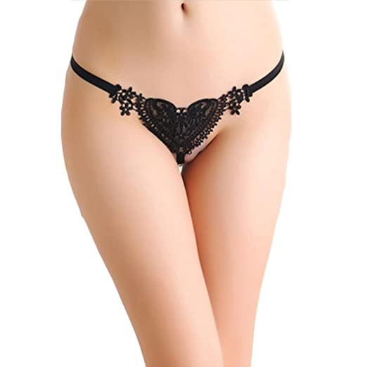 714204c4110 Gocheaper Sexy Lace Lady Pearl Massage Heart Briefs Lingerie Knickers  G-String Thongs Panties Underwear