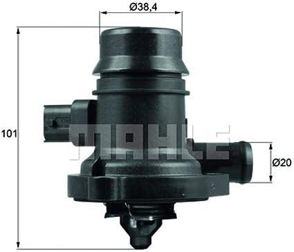 1 Pack MAHLE ORIGINAL TM 45 100D Engine Coolant Thermostat