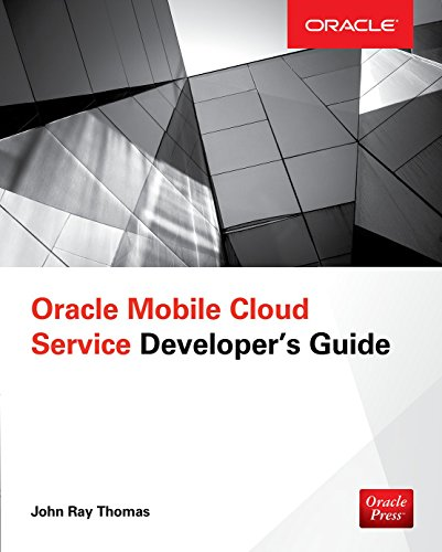Oracle Mobile Cloud Service Developers Guide
