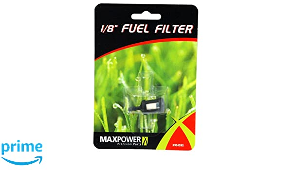 ZZF1 and Homelite 49422 410245 300759003 Maxpower 334282 1//8 Inch Fuel Filter For Chain Saw//Trimmers Replaces Tecumseh 410263 PS03380