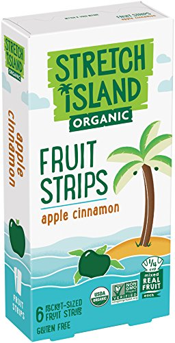 Stretch Island Cinnamon Apple Company Organic Fruit Strips, 2.96 Ounce