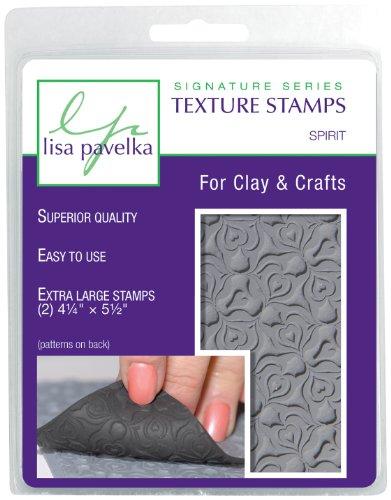 Lisa Pavelka 327021 Texture Stamp Kit Spirit by JHB International Inc