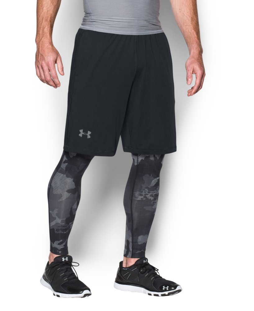 Under Armour Men's Raid 10'' Shorts, Black/Graphite, Medium by Under Armour (Image #4)