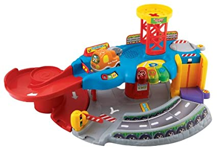 V Tech Garage : Vtech go go smart wheels garage amazon toys games
