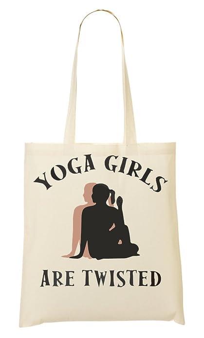 CP Yoga Girls Are Twisted Bolso De Mano Bolsa De La Compra ...