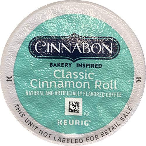 Cinnabon Classic Cinnamon Roll Keurig Single-Serve K-Cup Pods, 18 Count (Packaging May Vary) (K Cups Cinnamon Keurig)