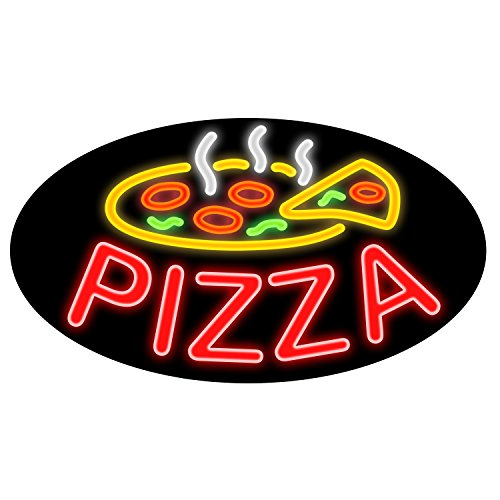 Newon LED Lighted Pizza Sign, 27