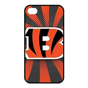 NFL Team Logo Cincinnati Bengals Design TPU Case Protective Skin For Iphone 4 4s iphone4s-NY408