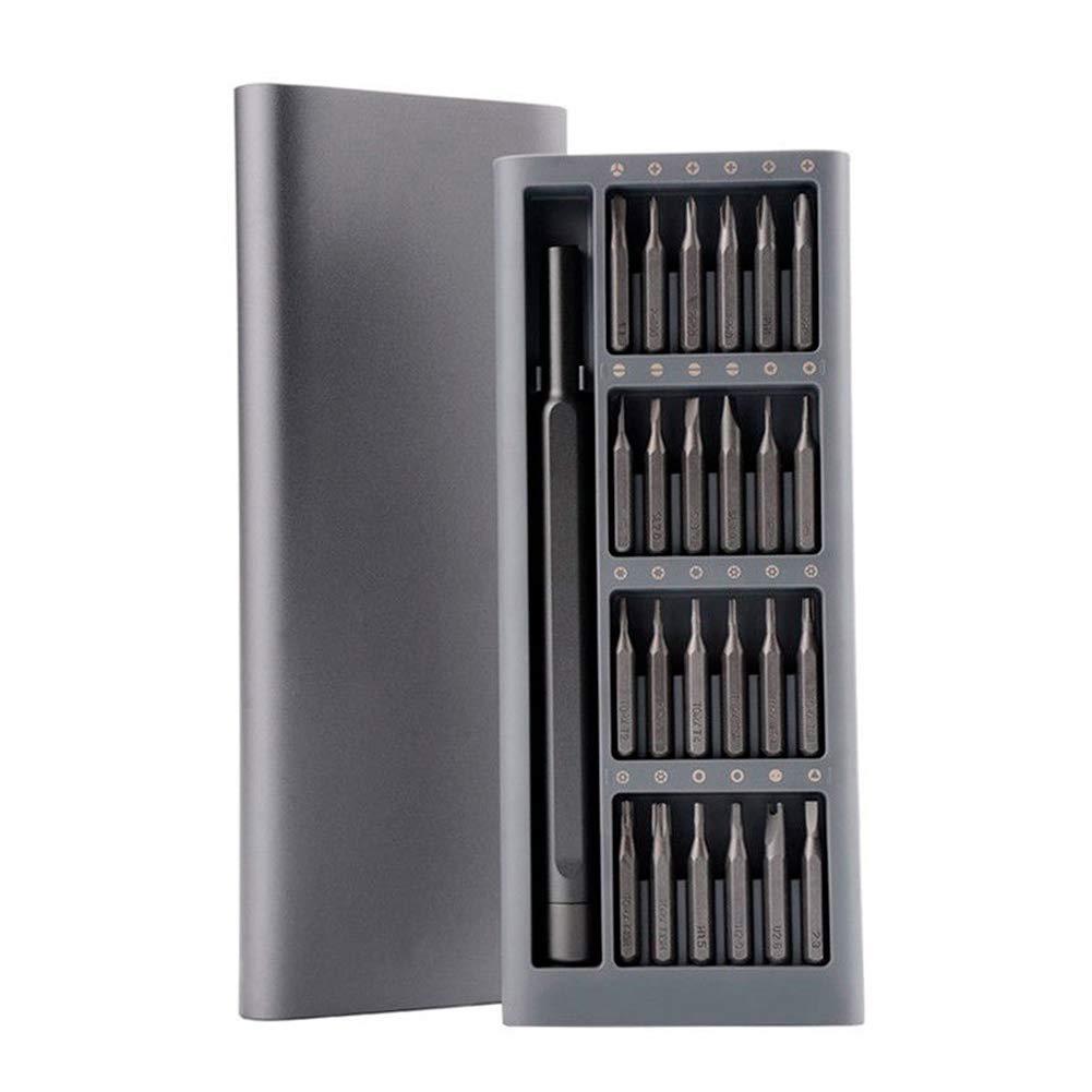 Juego de destornilladores magné ticos de precisió n multiusos 24 en 1 para Xiaomi MiJia Zhao Xuan Trade