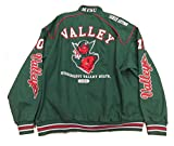 Mississippi Valley State University Varsity Trimmed HBCU lack College Mens Big & Tall Jacket (2x large)
