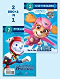 img - for Up in the Air!/Under the Waves! (PAW Patrol) (Step into Reading) book / textbook / text book