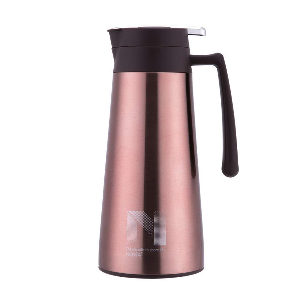 Acquisto YMYJZ Brocca sottovuoto coibentata, Bottiglia d'Acqua a Parete Doppia in Acciaio Inox 304, a Prova di perdite, caffettiera a Prova d'Acqua 1.6L Non tossico,Pink Prezzi offerta