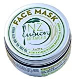 Clay Mask with Tea Tree Oil Australian Green Clay and Tea Tree Oil Face Mask 4 oz/113 gr.