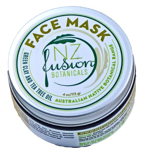 Australian Green Clay and Tea Tree Oil Face Mask 4 oz/113 gr