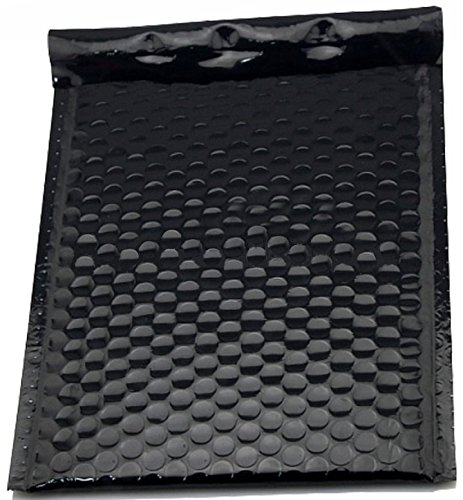 Poly Bubble mailers Padded envelopes 9.5 x 13.5. Pack of 10 Large Black cushion envelopes 9 1/2 x 13 1/2. Exterior size 10x14. Peel-N-Seal. Mailing & shipping & packaging & wrapping. Mfg# 10x13. by Amiff (Image #6)