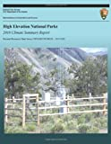 High Elevation National Parks: 2010 Climate Summary Report, National Park National Park Service, 149215654X