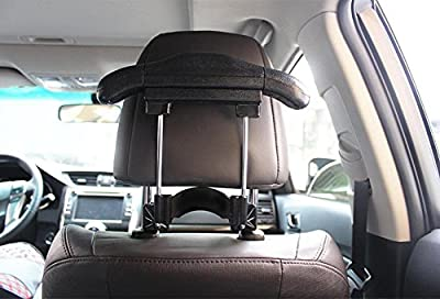 WWZY Car Imitation leather Stainless steel hangers Inside the car Place the hook Seat Chair back Multifunction Suit Retractable hanger 2521cm