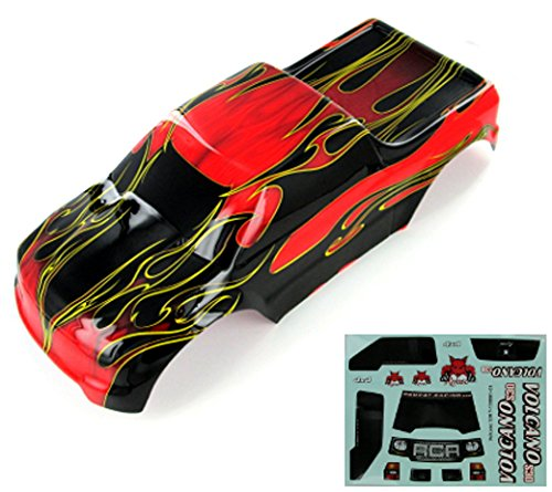 - Redcat Racing 88049-R Truck Body (1/10 Scale, Red Flame)