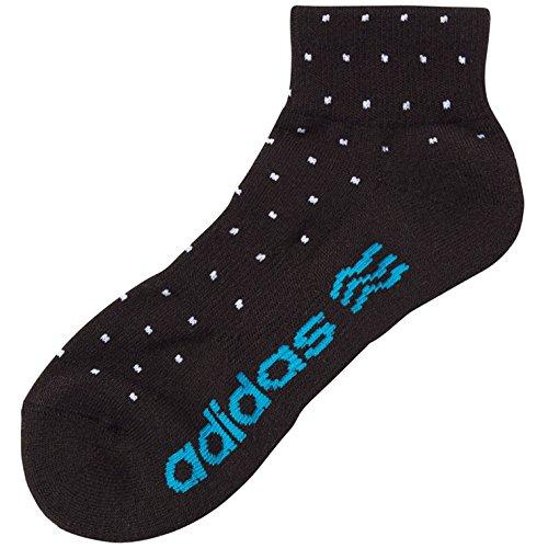 アディダス Adidas カジュアルショートソックス XW943 A08721 ブラック フリー