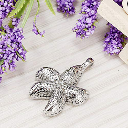 Starfish Urn Charm Pendant Cremation Jewelry for Pet Memorial Ashes Holder Necklace Jewelry Crafting Key Chain Bracelet Pendants Accessories Best
