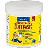 Boudreaux's Butt Paste Diaper Rash Ointment | Original | 16 oz. Jar | Paraben & Preservative Free