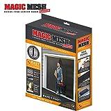 Magic Mesh Garage- Hands Free Magnetic Screen Door, Fits Single Garage Doors- 8 & 9 Foot