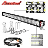 LED Light Bar, Autofeel 52 inch 770W Quad Row Driving Lights Spot Flood Combo Beam Light Bar Off Road Lights with Mounting Brackets and Wiring Harness for Truck Jeep ATV UTV Wrangler SUV Dodge