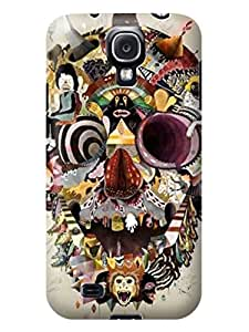 LarryToliver samsung Galaxy s4 Awesome Plastic Protective Skin Case Cover Shell - Customizable Beautiful Skull Arts pictures #3