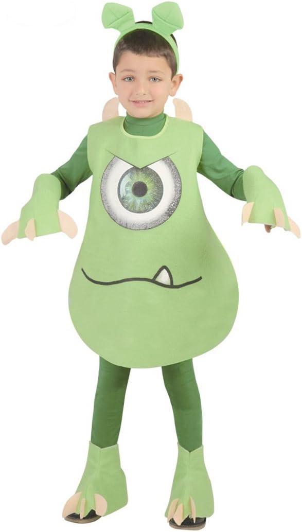 Disfraz de Mike Wazowski (talla 10-12 años): Amazon.es: Juguetes y ...
