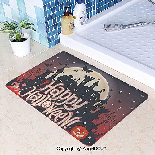 SCOXIXI Printed Non Slip Entry Door Mat Bathroom