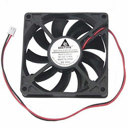 GDSTIME 8cm 80mm X 80mm X 15mm 12v Brushless Dc Cooling Fan by GDSTIME (Image #6)