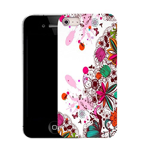 Mobile Case Mate IPhone 5 clip on Silicone Coque couverture case cover Pare-chocs + STYLET - infatuated pattern (SILICON)