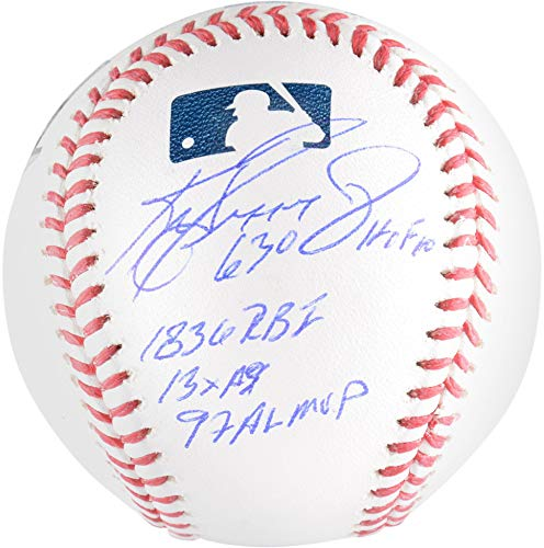 - Ken Griffey Jr. Seattle Mariners Autographed Baseball with Multiple Inscriptions - Limited Edition of 10 - TRISTAR - Fanatics Authentic Certified