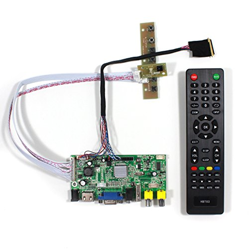 (VSDISPLAY HDMI VGA 2AV USB Audio LCD Monitor Driver Controller Board Work For 14