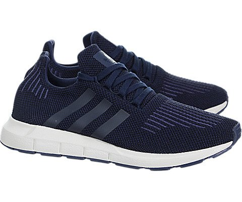 adidas Originals Kids Boy's Swift Run (Big Kid) Navy/Black/Blue 4 M US Big Kid M