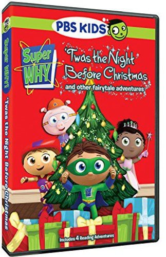 Super Why!: 'Twas the Night Before Christmas and Other Fairytale Adventures -