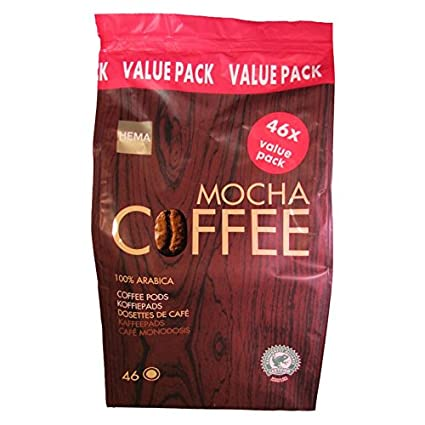 HEMA - Juego de 46 cápsulas de café para cafeteras Senseo ...